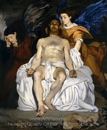 The Dead Christ with Angels painting reproduction, Édouard Manet