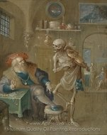 The Death of Death painting reproduction, Frans Francken