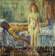 The Death of Marat II painting reproduction, Edvard Munch