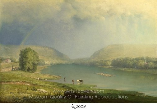 George Inness, The Delaware Water Gap oil painting reproduction