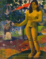 The Delightful Land painting reproduction, Paul Gauguin