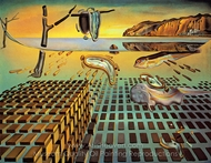 The Disintegration of the Persistence of Memory painting reproduction, Salvador Dali (inspired by)