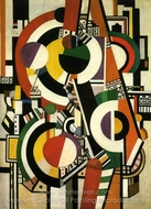 The Disks painting reproduction, Fernand Leger