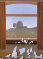 The Door to Freedom painting reproduction, Rene Magritte (inspired by)