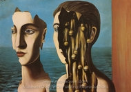 The Double Secret painting reproduction, Rene Magritte (inspired by)
