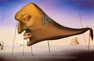 The Dream painting reproduction, Salvador Dali (inspired by)