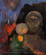 The Dream painting reproduction, Odilon Redon