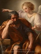 The Dream of St. Joseph painting reproduction, Anton Raphael Mengs