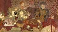 The Earthenware Pot painting reproduction, Edouard Vuillard