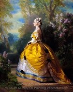 The Empress Eugenie painting reproduction, Franz Xavier Winterhalter