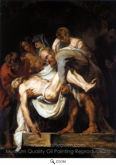 Peter Paul Rubens, The Entombment oil painting reproduction