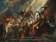 The Fall of Phaeton painting reproduction, Peter Paul Rubens