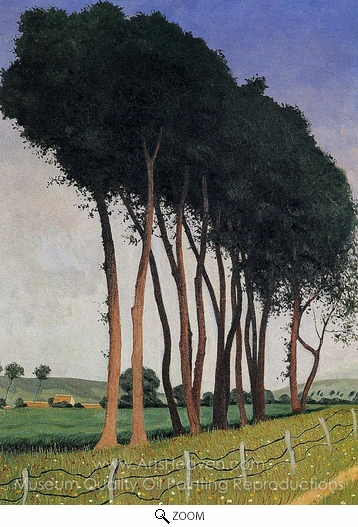 Felix Vallotton, The Family of Trees oil painting reproduction