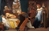 The Feigned Death of Juliet painting reproduction, Lord Frederic Leighton
