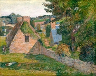 The Field of Derout-Lollichon painting reproduction, Paul Gauguin