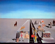 The First Days of Spring painting reproduction, Salvador Dali (inspired by)