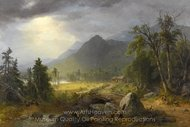 The First Harvest in the Wilderness painting reproduction, Asher Brown Durand
