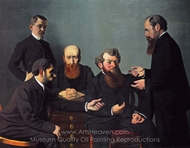 The Five Painters painting reproduction, Felix Vallotton