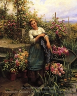 The Flower Boat painting reproduction, Daniel Ridgway Knight
