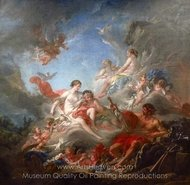 The Forges of Vulcan painting reproduction, Francois Boucher