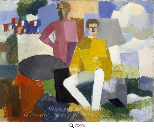 Roger De La Fresnaye, The Fourteenth of July oil painting reproduction