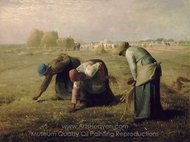 The Gleaners painting reproduction, Jean-Francois Millet