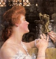 The Golden Hour painting reproduction, Sir Lawrence Alma-Tadema