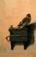 The Goldfinch painting reproduction, Carel Fabritius