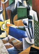 The Grocery Store painting reproduction, Liubov Popova