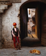 The Guard painting reproduction, Jean-Leon Gerome