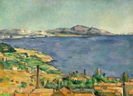 The Gulf of Marseilles painting reproduction, Paul Cézanne