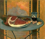 The Ham painting reproduction, Paul Gauguin