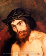 The Head of Christ painting reproduction, �douard Manet