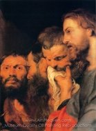 The Heads of the Apostles painting reproduction, Peter Paul Rubens
