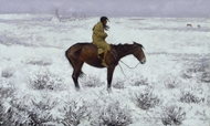 The Herd Boy painting reproduction, Frederic Remington