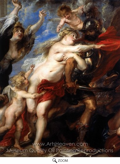 Peter Paul Rubens, The Horrors of War oil painting reproduction
