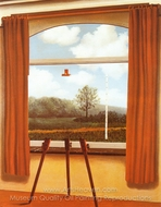 The Human Condition painting reproduction, Rene Magritte (inspired by)