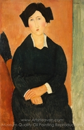 The Italian Woman painting reproduction, Amedeo Modigliani