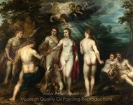 The Judgement of Paris painting reproduction, Peter Paul Rubens