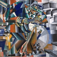 The Knife Grinder painting reproduction, Kasimir Malevich
