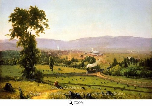 George Inness, The Lackaanna Valley oil painting reproduction