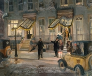 The Lafayette painting reproduction, John French Sloan