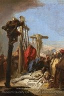 The Lamentation at the Foot of the Cross painting reproduction, Giovanni Battista Tiepolo