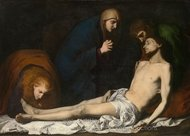 The Lamentation over the Dead Christ painting reproduction, Jusepe De Ribera
