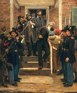The Last Moments of John Brown painting reproduction, Thomas Hovenden