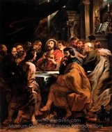 The Last Supper painting reproduction, Peter Paul Rubens