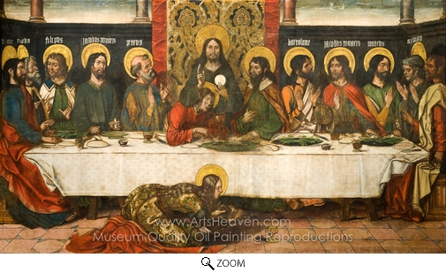 Pedro Berruguete, The Last Supper oil painting reproduction