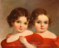 The Leland Sisters painting reproduction, Thomas Sully