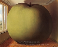 The Listening Room painting reproduction, Rene Magritte (inspired by)
