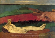 The Loss of Virginity painting reproduction, Paul Gauguin